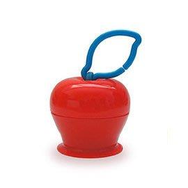 彌月禮 安撫 台灣製造 美國Grapple矽膠創意小物 三爪玩具俏吸盤 紅蘋果 辰果購物