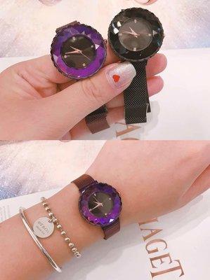 韓國進口-施華洛世奇鋯石鑽錶