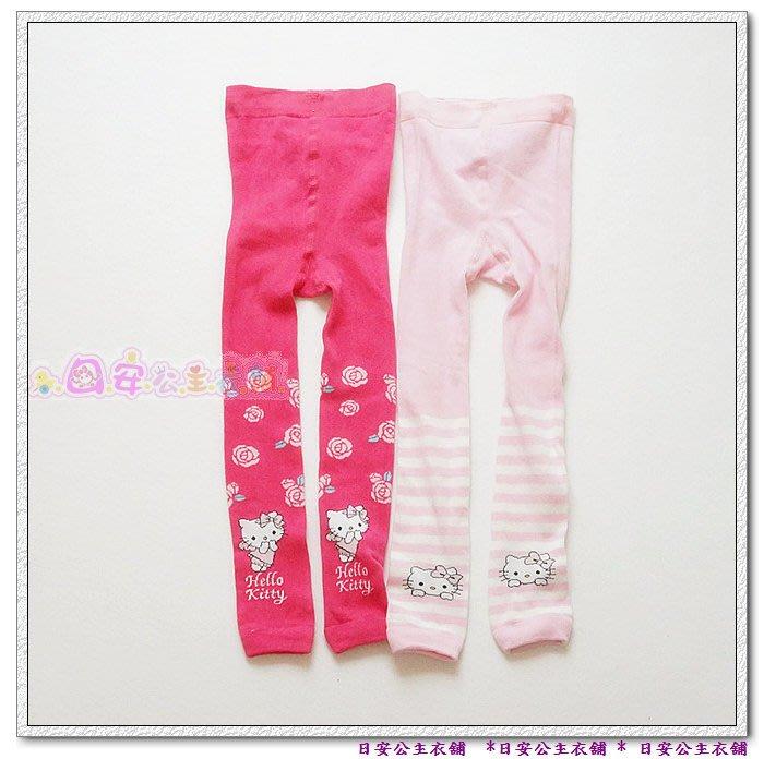 日安公主衣舖PA653*歐美原單 K.花朵/條紋九份褲襪 (98-140)
