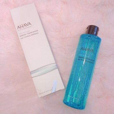 AHAVA 礦物調理液 time to clear mineral toning water 250ml 化妝水 現貨
