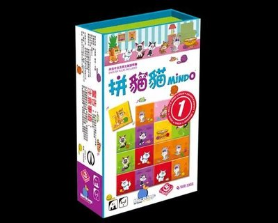 AAA桌遊手游棋牌【Bulygames】拼貓貓 Mindo 中文正版桌游每组價格不同下標前聯繫客服核對  tingtttAAA