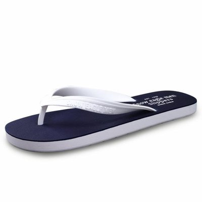 夏季新款正韓潮流學生人字拖男士防滑夾腳橡膠戶外休閒沙灘涼拖鞋