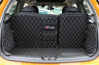 BMW寶馬迷你mini全包圍後備箱墊 cooper f56/f54 clubman汽車尾箱墊 迷你全系可用