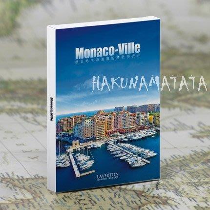 【貼貼屋】 記一場說走就走的旅行-摩納哥/明信片/1套30張