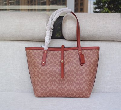 【Woodbury Outlet Coach 旗艦館】COACH 32714 購物袋 子母袋 單肩包美國代購100%正品