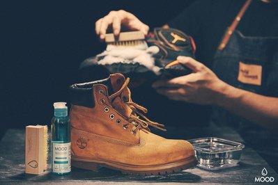 MOOD | MOOD 鞋子清潔劑組 洗鞋神器 無毒環保 MIT TIBERLAND BOOSTS 黃靴 可用