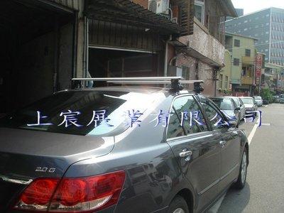 【上宸】Nissan BIG TIIDA 5D 鹿牌 TLS01 低風阻 車頂架 流線型 車頂置物架 鋁桿