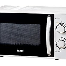 《586家電館》SAMPO聲寶 20公升機械式微波爐 【RE-N620TR】五段火力控制  天廚