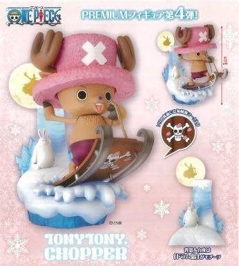 日版代理 海賊王  現貨 景品 冬島 雪橇 喬巴 PREMIUM 場景組 航海王 聖誕節 雪兔 兔子