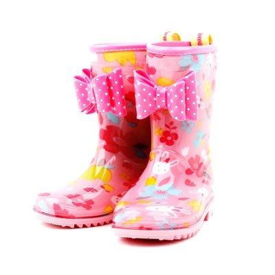 ♀高麗妹♀韓國 Gril Backpack Set 棉花Rora小兔 兒童雨鞋 防滑雨鞋 女童中筒雨靴(預購)