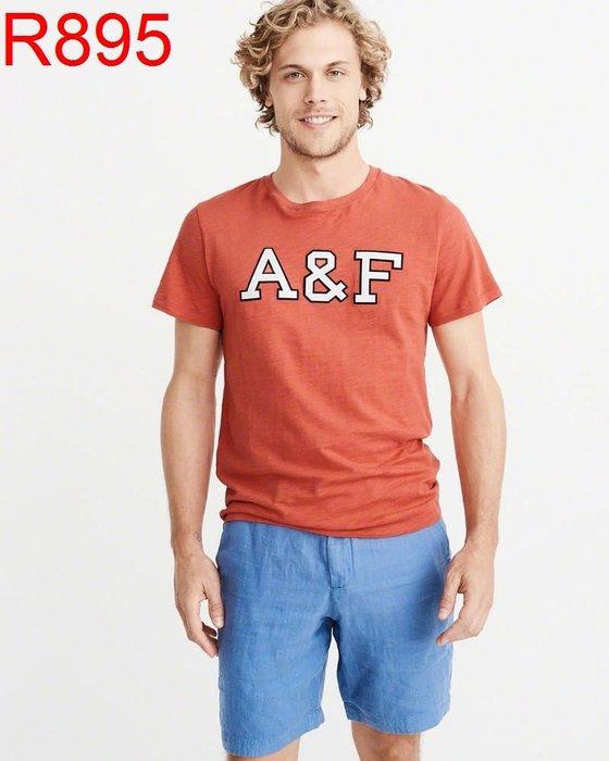 【西寧鹿】AF a&f Abercrombie & Fitch HCO  T-SHIRT 絕對真貨 可面交 R895