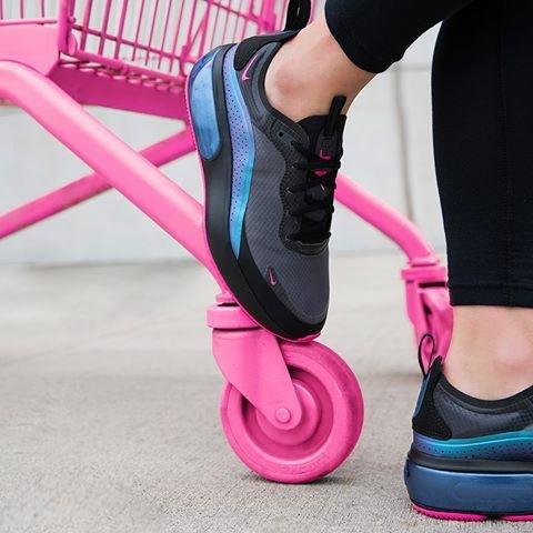 【Cheers】Nike Air Max Dia AR7410-001 黑色 全黑 變色龍 黑桃 女鞋 歐美限定 桃紅