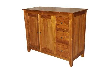 塔森柚木家具-全柚木收納櫃 CA-15