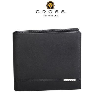 [ 限量專櫃展示品 ] ~ CROSS ~ 高仕 頂級 NAPPA 小牛皮 5卡 男用 皮夾 紳士款