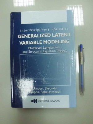 (歡迎詢問價錢)B9-5cd☆2004年出版『Generalized Latent Variable Modeling』
