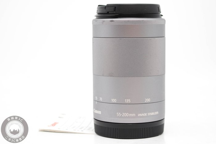 【高雄青蘋果3C】CANON EF-M 55-200MM f4.5-6.3 IS STM 二手鏡頭 公司貨 #52350