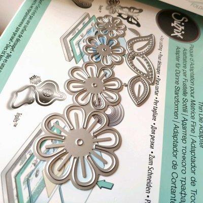 阿里家 scrapbook DIY相冊卡片薄板模具 19034 花朵/訂單滿200元出貨