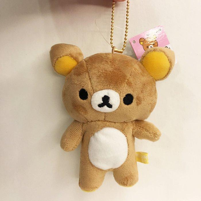 ^ 燕子部屋 ^ San-X正版 【 拉拉熊/ 懶熊 】可愛懶熊珠鍊毛絨公仔娃娃-13公分