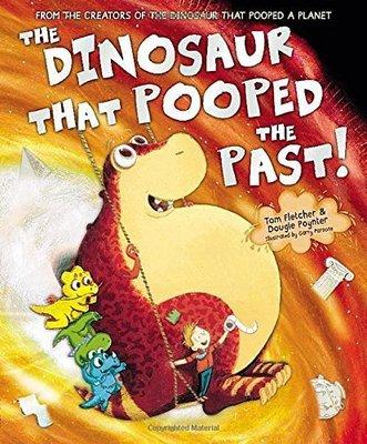*小P書樂園* The Dinosaur That Pooped The Past