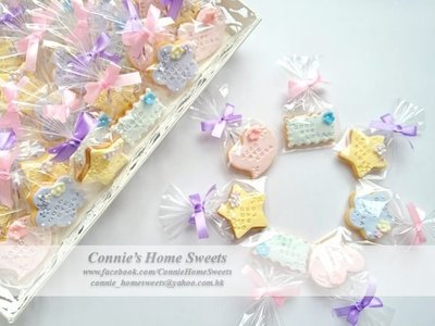 【Connie's Home Sweets】Farewell Cookies 散水餅 Tailor Made Cookies Good Bye Cookies Thank You Cookies