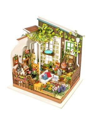 預售款-LKQJD-拼裝小房子模型生日...