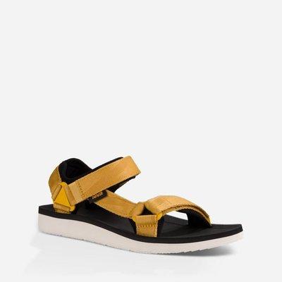 WaShiDa【ORIGINAL】TEVA 美國品牌 夏日 運動 經典 多點式 調整 織帶 水陸 涼鞋 土黃