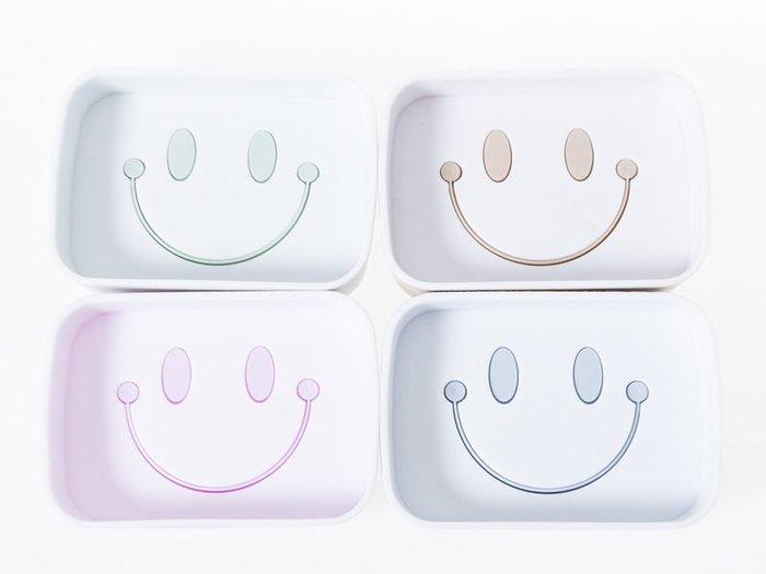 【幸福2次方】雙層微笑肥皂盒 笑臉瀝水香皂盒 浴室皂盒 - 多色可選