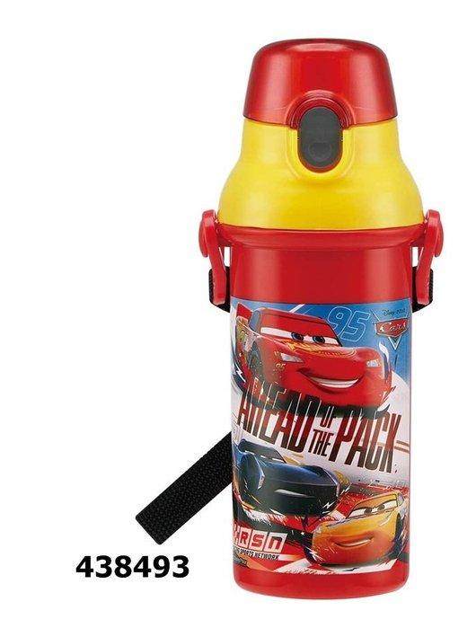 CARS 直飲式水壺480ml  奶爸商城 日本製 438493 同系列水壺4款合購免運