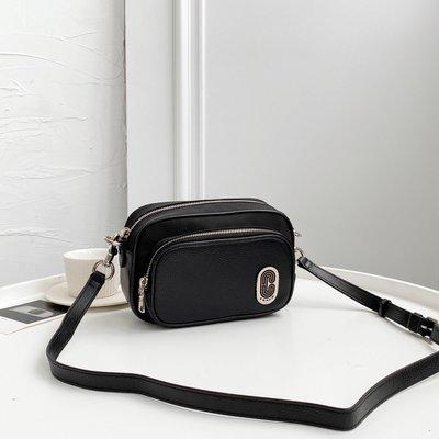 美國正品 COACH 91065 新款雙層拉鏈相機包 男式單肩背包 斜跨包 帆布面料拼真皮 輕便百搭