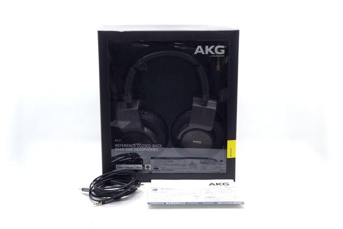 【台中青蘋果】AKG K545 二手 密閉式頭戴式耳機 #37006