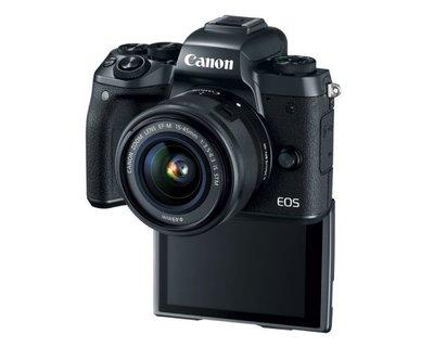【KODAH】Canon EOS M5 單機身 微型單眼 觸控翻轉螢幕 電子觀景窗 繁中平輸/店保~免運...A