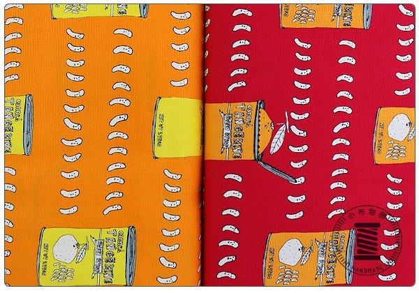 ✿小布物曲✿水果罐頭 100%純棉印花布(厚) 窄幅110CM 日本進口質感優 共2色 單價/尺