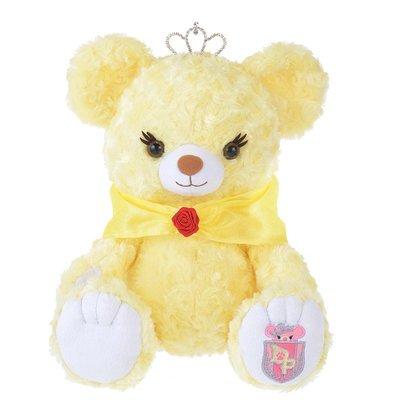 (預購)保證真品 日本空運 東京迪士尼 大學熊Uni BEAR sity x 美女與野獸 貝兒公主限定款絨毛娃娃