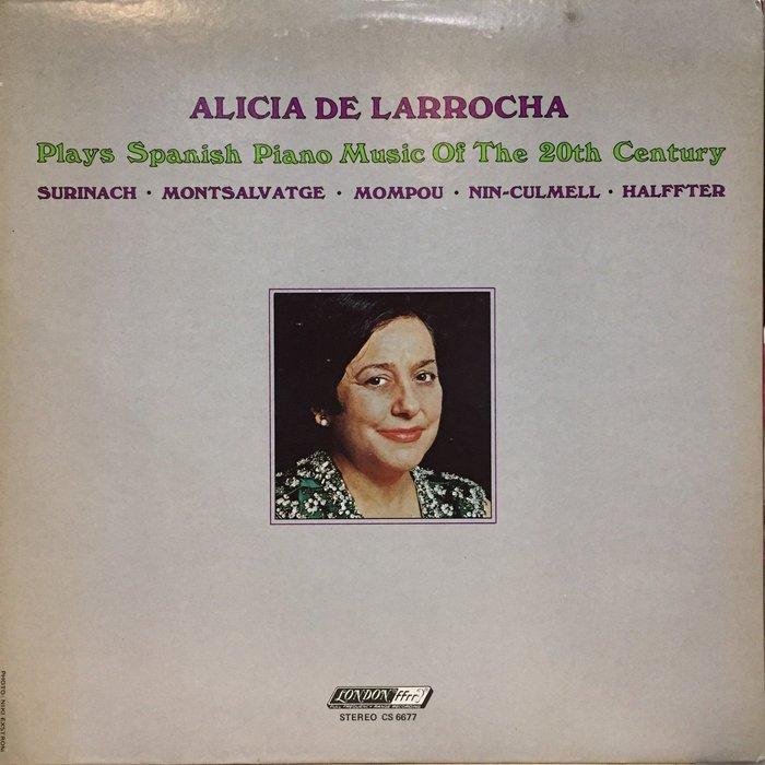 §小宋唱片§ 英版/拉蘿加 彈奏 20世紀西班牙鋼琴音樂/二手古典黑膠
