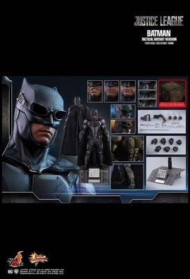 全新未開封 Hottoys Hot Toys MMS432 Batman 蝙蝠俠 Tactical Batsuit Special Edition Bonus