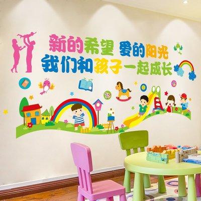 聚吉小屋 #卡通墻貼幼兒園墻面裝飾自粘...