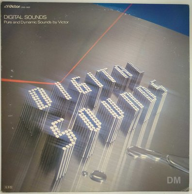黑膠唱片 Digital Sounds Pure and Dynamic Sounds by Victor 音響測試片