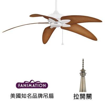 Fanimation Windpointe Custom 60英吋吊扇(MA7500MW-BPW6090DNA)平白色