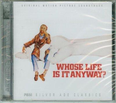 """是誰的生命都無妨?(Whose Life Is It Anyway?)""""- A Rubinstein,全新美版W32"""