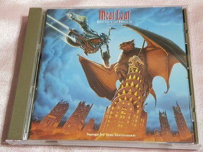 R西洋團(二手CD)Meat Loaf~Bat Out of Hell II~back into ~