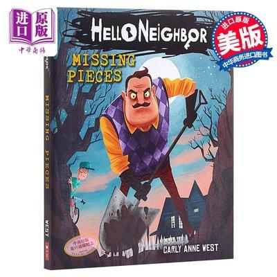你好,鄰居1 英文 Hello Neighbor#01:Missing Pieces 驚悚趣味游戲小說 Carly An