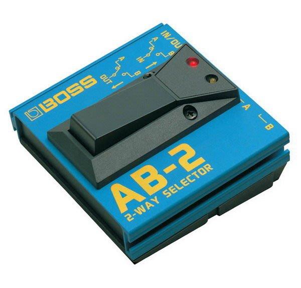 ☆ 唐尼樂器︵☆ Boss AB-2 2-Way Selector 兩音路訊號切換踏板電吉他單顆效果器