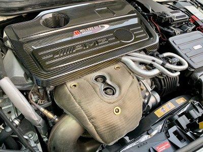 ☆光速改裝精品☆ CWD TURBO 渦輪隔熱罩 防熱罩 BENZ  CLA45  GLA45 A45