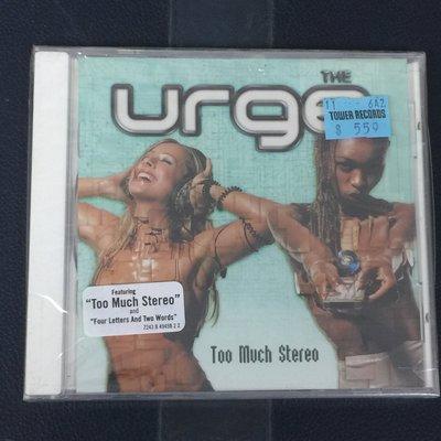 【舊世主】【外語CD】急驚風樂團The Urge /立體音爆Too Much Stereo