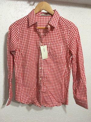 日本代購 日本連線 M號 olive des olive 紅色格子 長袖 襯衫 紅白格紋 純棉 日本 帶回 百搭