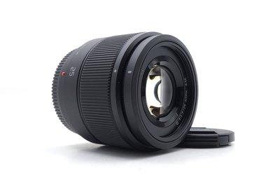 【台南橙市3C】Panasonic Lumix 25mm f1.7 二手 大光圈定焦鏡 單眼鏡頭 公司貨 #41759