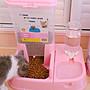 貓咪用品貓碗雙碗自動飲水狗碗自動喂食器Y- ...
