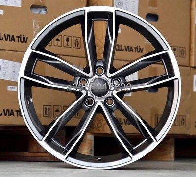 全新 類AUDI S5原廠式樣5孔112 18吋鋁圈19吋鋁圈A3/S3/A4/S4/Tiguan/GOLF/SKODA