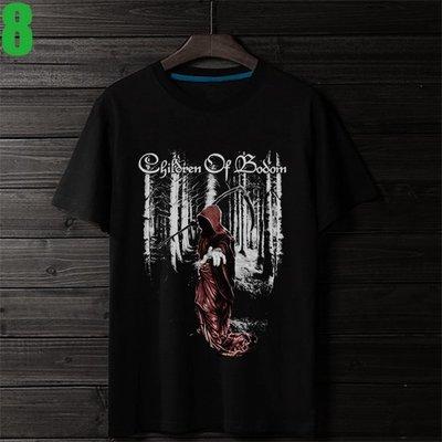 Children Of Bodom【死神之子】短袖重金屬搖滾樂團T恤(男版.女版皆有) 新款上市購買多件多優惠【賣場四】