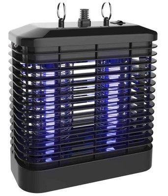 【免運費】KINYO 耐嘉 強力8W電擊式UVA燈管捕蚊燈 KL-7081